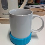 The cup was to record values through the use of an attached accelerometer.